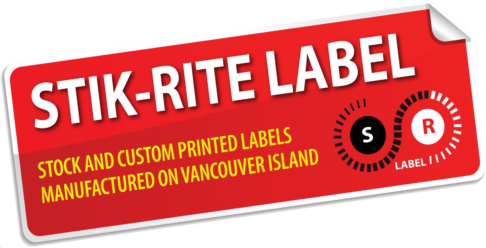 Stik-Rite Label